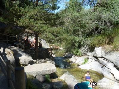 Pesquerías Reales y Fuentes de La Granja;grupo montaña madrid clubs de senderismo asociaciones de